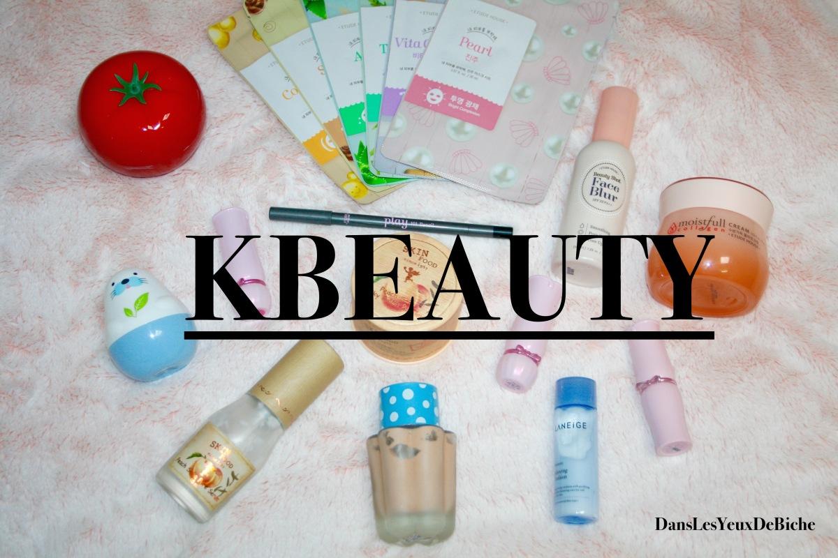 Mon aventure Kbeauty !